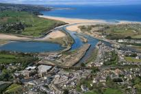 The North Quay area of Hayle, before redevelopment